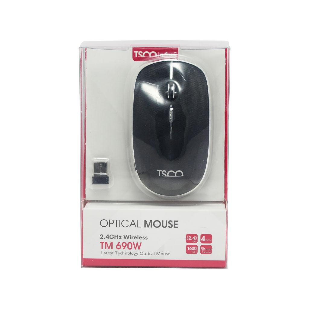 ماوس بی سیم تسکو مدل TM 690 W
