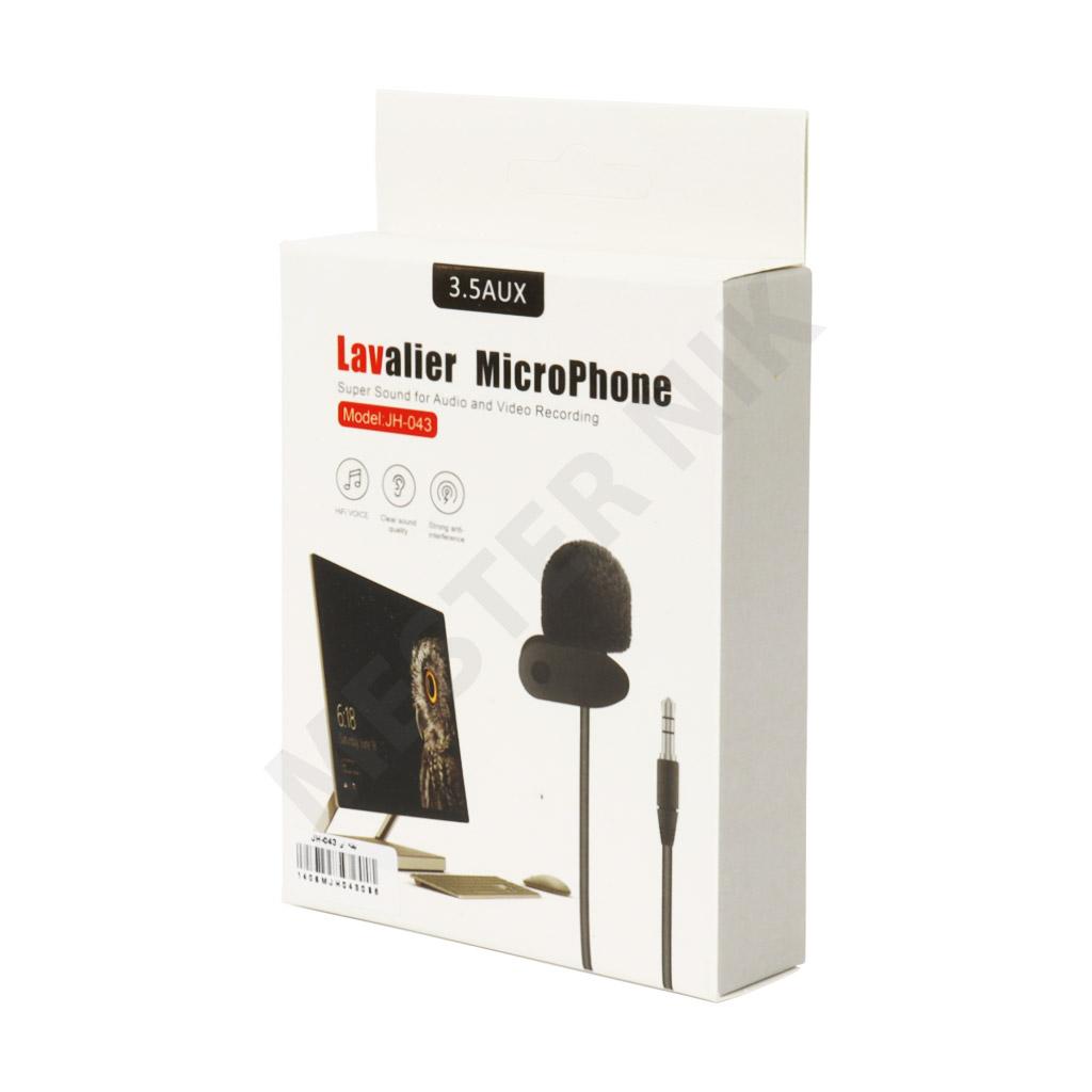 میکروفون یقه ای لاوالیر مدل JH-043